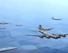 Απίστευτο έγχρωμο βίντεο: Αερομαχίες του Δευτέρου Παγκοσμίου Πολέμου