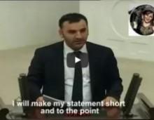 """""""Τούρκοι κλέψατε γη Ελλήνων Αρμενίων και Κούρδων""""! Κούρδος βουλευτής στο τουρκικό κοινοβούλιο!"""