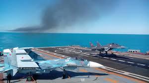 carrier-mig-29kr-landing-su-33